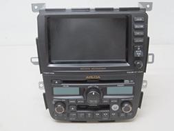 04 ACURA MDX NAVIGATION DISPLAY RADIO 6 DISC CD PLAYER WITH