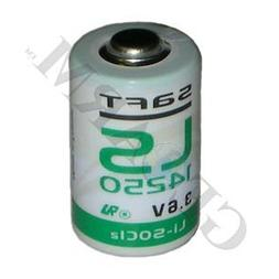 1/2 AA Cell 3.6V High Energy Lithium Alarm Battery