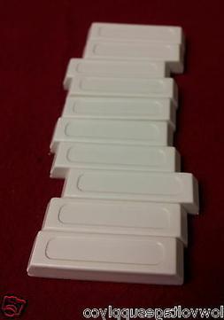 10 Rare Earth Magnets Door Window Alarm White Plastic Securi