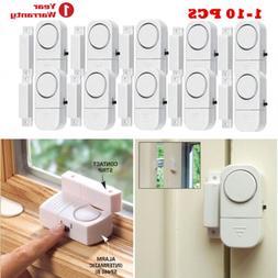 1-10Pc Magnetic Wireless Window Door Entry Burglar Security