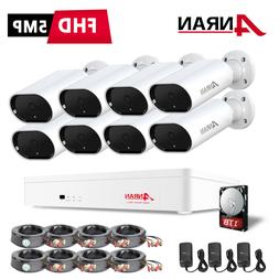 1080P Home Security Camera System CCTV Outdoor With 2TB Hard