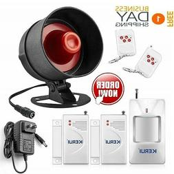 Wireless Security Alarm 110db System For Home Apartment Busi