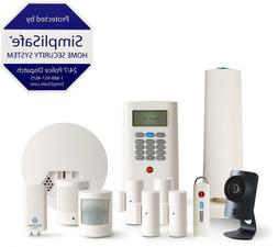 SimpliSafe 12-Piece Home Security System with HD Camera & Sm