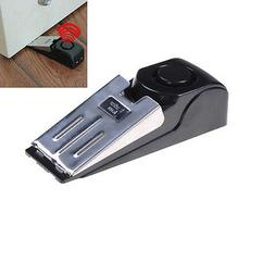 125 dB Security System Home Wedge Shaped Door  Alarm Stop St