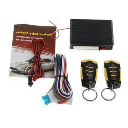 12V Car Auto Alarm Remote Central Door Locking Vehicle Keyle