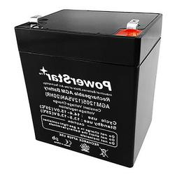 new rechargeable sla battery 12v 4 5ah