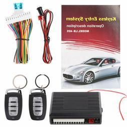 12V  Car Auto Alarm Remote Central Door Locking Vehicle Keyl