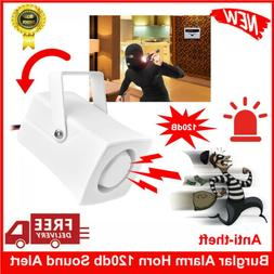 12V DC Wired 120db Alarm Siren Horn Indoor For Home Security