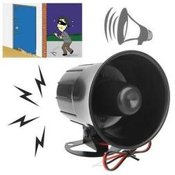 12V DC Wired Loud Alarm Siren Horn Outdoor For Home Security