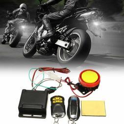 12V Motorcycle Burglar Alarm Motorbike Security System Anti-