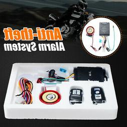 12V Motorcycle Scooter Car Security Alarm System Anti-theft
