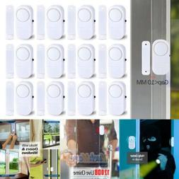 12X WIRELESS Window Door Burglar Security 120dB ALARM System