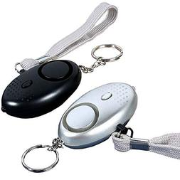 4 Pack 140 db Safesound Personal Security Alarm Keychain, Sa