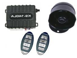K9 K9140LA Car Alarm Vehicle Security System with 8 Programm