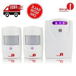 1Byone Wireless Motion Detector Alarm System  Driveway Garag