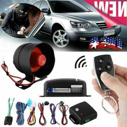 1Set Car Vehicle Burglar Protection System Alarm Security+2