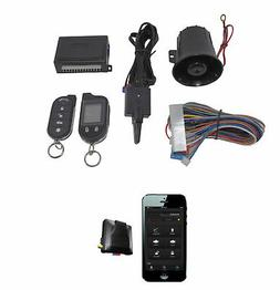 2 Way Car Alarm Anti Theft Security System G777 + G3 GPS Tra