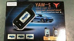 2-Way Car Alarm System 1058 Model High Quality Super Long Di