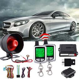2Way LCD Remote Car Alarm Keyless Entry Security System Page
