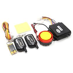 uxcell 2-Way Motorcycle Anti-Theft Alarm System Engine Start