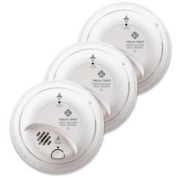 3 Pack Smoke And Carbon Monoxide Detector Hardwired Alarm Wi