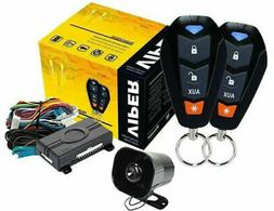 3400v 3 channel 1 way car alarm