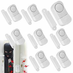 8 Pack WIRELESS Home Window Door Burglar Security Alarm Syst