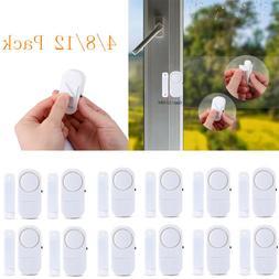 4-12x WIRELESS Home Window Door Burglar Security ALARM Syste