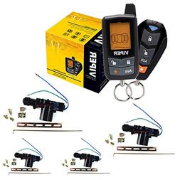 Viper 5305V 4 Door Locks 2 Way Car Alarm Keyless Entry Remor
