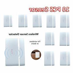 433 MHz Wireless Home Window Door Burglar Security Alarm Sys