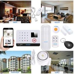 433mhz lcd wifi alarm system water detector