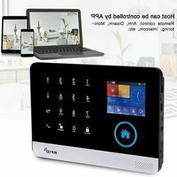 433MHZ Wireless GSM+GPRS+WIFI Video Alarm Smart Home Securit