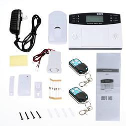 433MHz Wireless GSM SMS Home Burglar Security Alarm System D