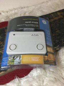 GE 45136 Choice Alert Wireless Alarm System Siren Home Secur