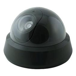GE 45277 Mock Security Camera with LED Light Dome Shape