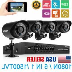4ch 1080p dvr cctv home security ip