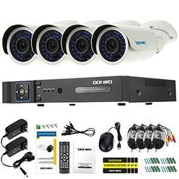 OWSOO 4CH AHD 1080N/720P 1500TVL CCTV Surveillance DVR Secur