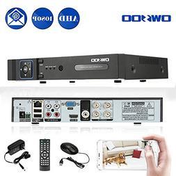 OWSOO 4CH 1080P H.264 Full 1080N P2P Network DVR CCTV Securi