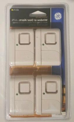 GE 4pk Wireless, Window & Door Alarm 45174