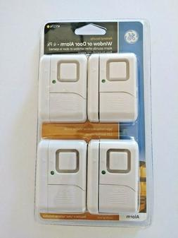 GE 4pk Wireless, Window & Door Alarm 45174