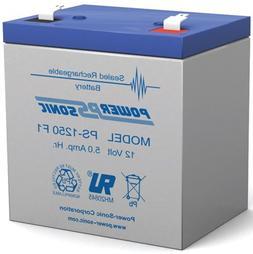 12V 5Ah Home Alarm Security System SLA Battery