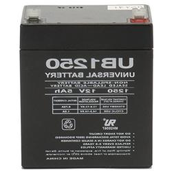 Universal Power Group 12V 5AH SLA Battery Replacement for IO