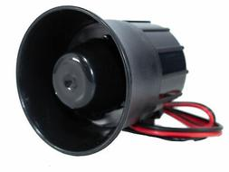 6 tone Panic Siren Horn Alarm Security For All Car Truck Van