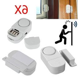 6 X WIRELESS Home Window Door Burglar Security ALARM System