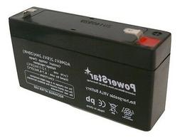 6VOLT 1.2AH SLA BATTERY FOR LEOCH DJW6-1.2 6V1.3AH 6V1.4AH 6