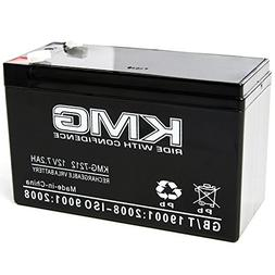 KMG 12 Volts 7.2Ah Replacement Battery for Imex Medical Syst