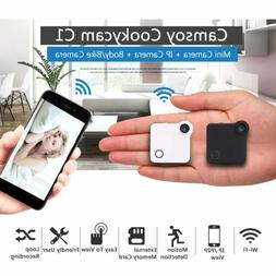 720P Motion Sensor HD C1 Mini Camera IP Cam WiFi Wearable Ca