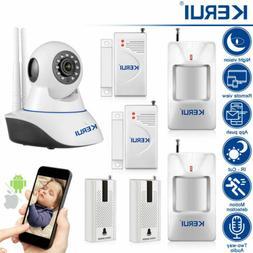 KERUI 720P WIFI Wireless Indoor Smart Home Security Camera B