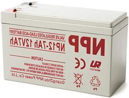 NPP 12V 7ah 12Volt 7amp Rechargeable Sealed Lead Acid Batter