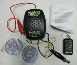 Bulldog Security 802 Model 82 Vehicle and ATV Alarm System W
